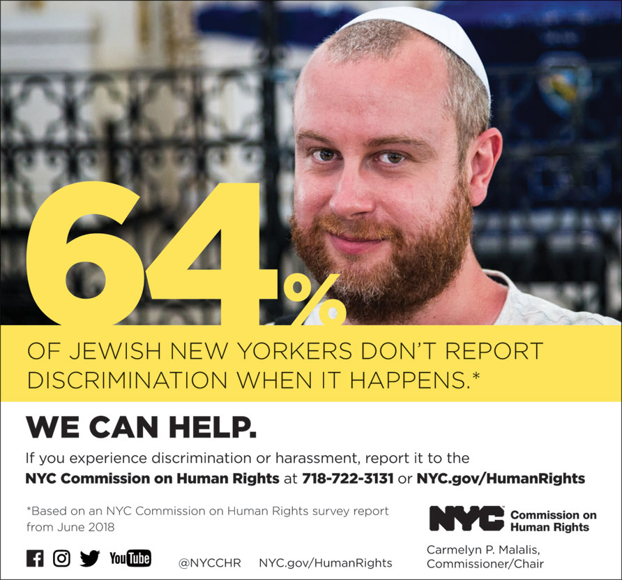 New Report on Muslim, Arab, South Asian, Jewish & Sikh New Yorkers' Experiences of Bias, Harassment, Discrimination & Acts of Hate