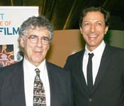 From Left: Elliott Gould, 2009 IFF Lifetime Achievement Award recipient and Jeff Goldblum, star of Adam Resurrected, presenter of 2009 IFF Achievement in Cinema Award.