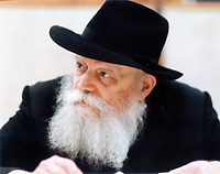 The late Rabbi Schneerson photo by Vishinsky