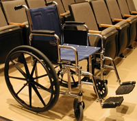 Wheelchair photo courtesy of NTSB