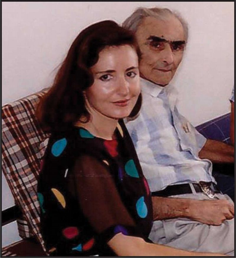 Felicita Jakoel and her father, Jozef, Jewish Albanians. Jozef , a Holocaust survivor, became the head of Albania's Jewish community.