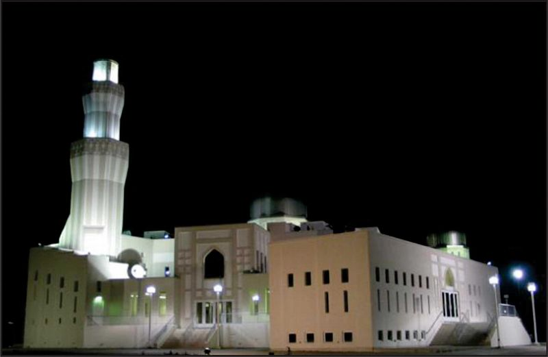 Baitul Islam Mosque in Vaughan, north of Toronto, was inaugurated on October, 17th 1992. Photo: Wikipedia