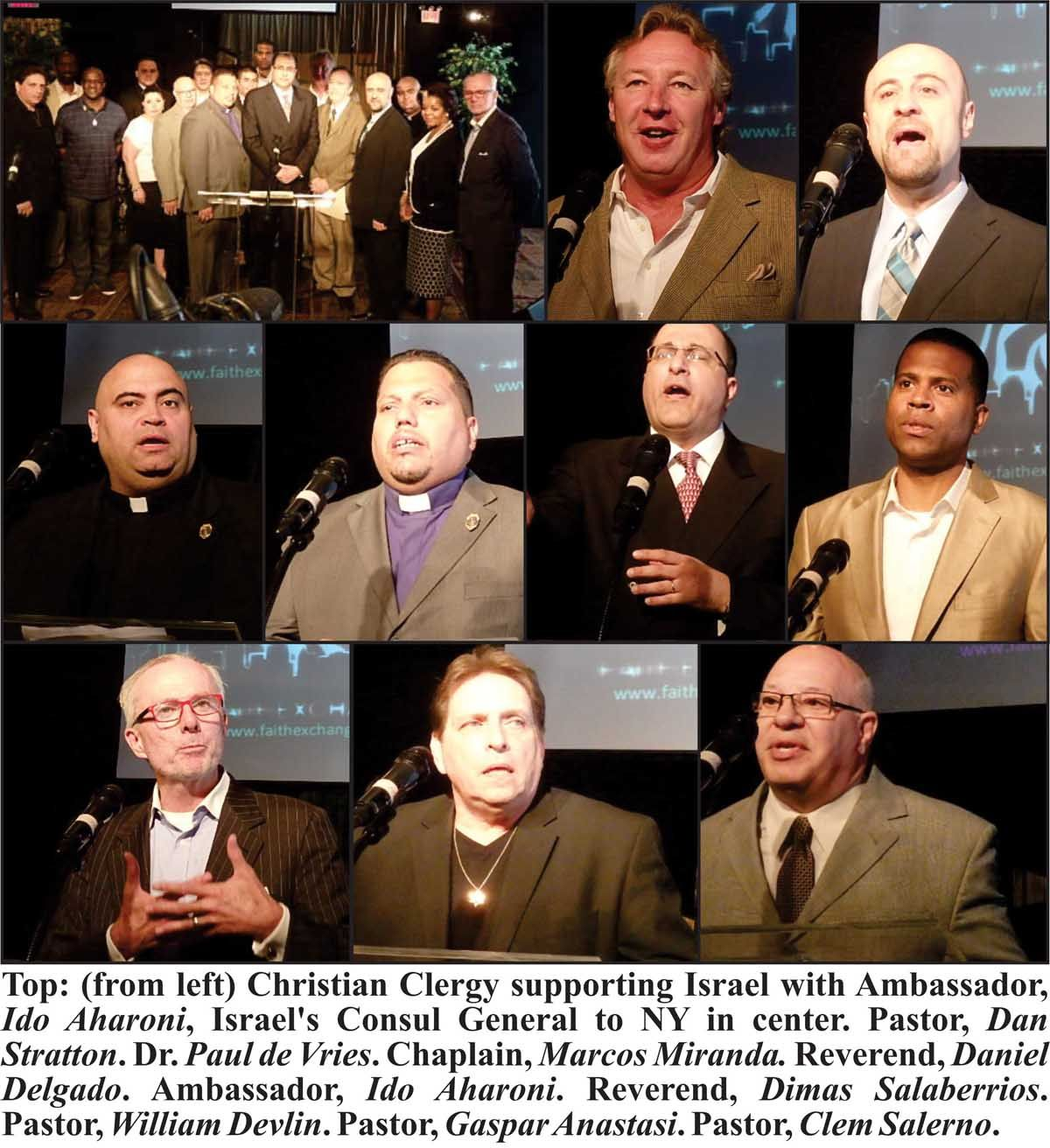Christian Clergy Support Israel