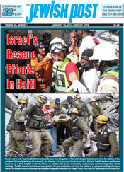 Jewish Post: Israeli Aid to Haiti
