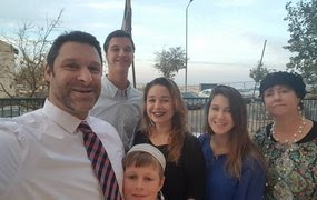 Late Ari Fuld Z-L and his Family