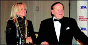 Dr. Miriam and Sheldon Adelson, staunch Zionists, philanthropists and world renowned medical professional and business entrepreneur.