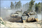 IDF operations in Gaza, which have been criticized with bias by the Goldstone Committee Report. Photos: IDF Spokesperson for Israel Sun