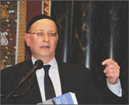 Rabbi Rolando (Roly) Matalon, of B�nai Jeshurun Congregation. Praise of UN�s vote on Palestinian statehood creates debate.