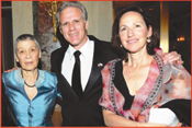 From left: Israel's UN Ambassador, Gabriela Shalev; Israel's US Ambassador Michael Oren & Sally Oren.   Photos: Courtesy AIFL