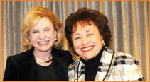 From left: Congresswoman Carolyn Maloney, and Nita Lowey.
