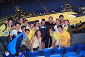 SPORTS STARS OF THE FUTURE MEET BASKETBALL LEGEND TAL BRODY AT MACCABI TEL-AVIV