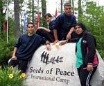 """'Seeds' at the International Camp in Maine "", Photo courtesy of Seeds of Peace"