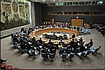 The United Nations� Security Council meeting on the Mid-East. Photo: Courtesy The UN