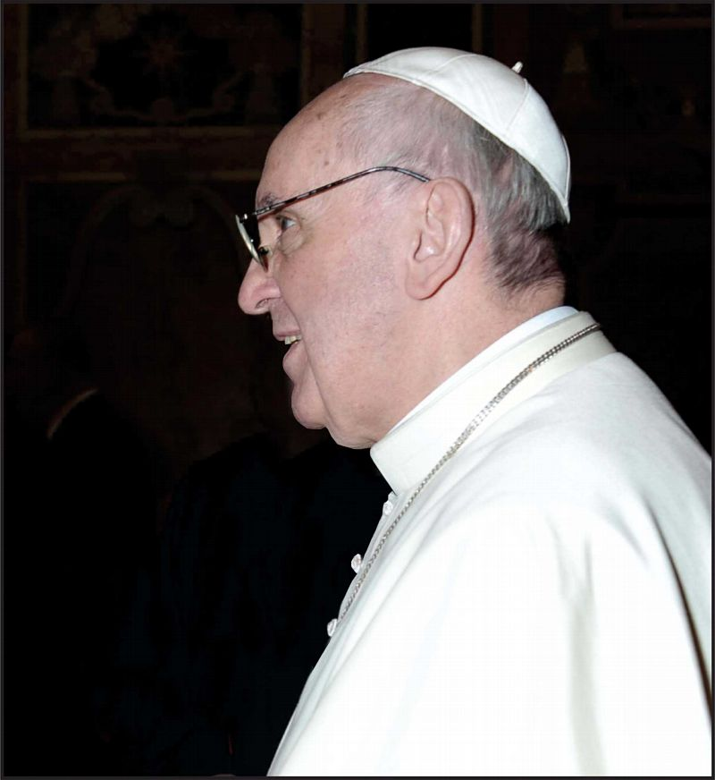 Pope Francis. Photo: L'Observatore Romano