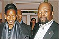 "Ms. Ayaan Hirsi Ali - CORE MLK 2007 ""International Sisterhood Award"" (left) with Roy Innis - National Chairman CORE;"