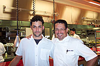 Sous Chef, Charles Antoine and Executive Chef, Normand Laprise of Toque