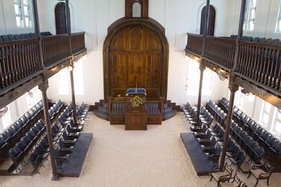 Shaare Shalom Synagogue in Kingston