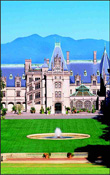 The most unique landmark in the Ashville, NC�s area: The Biltmore Estate, an architectural diamond, George W. Vanderbilt�s historic property in Asheville. Photo courtesy The Biltmore Estate