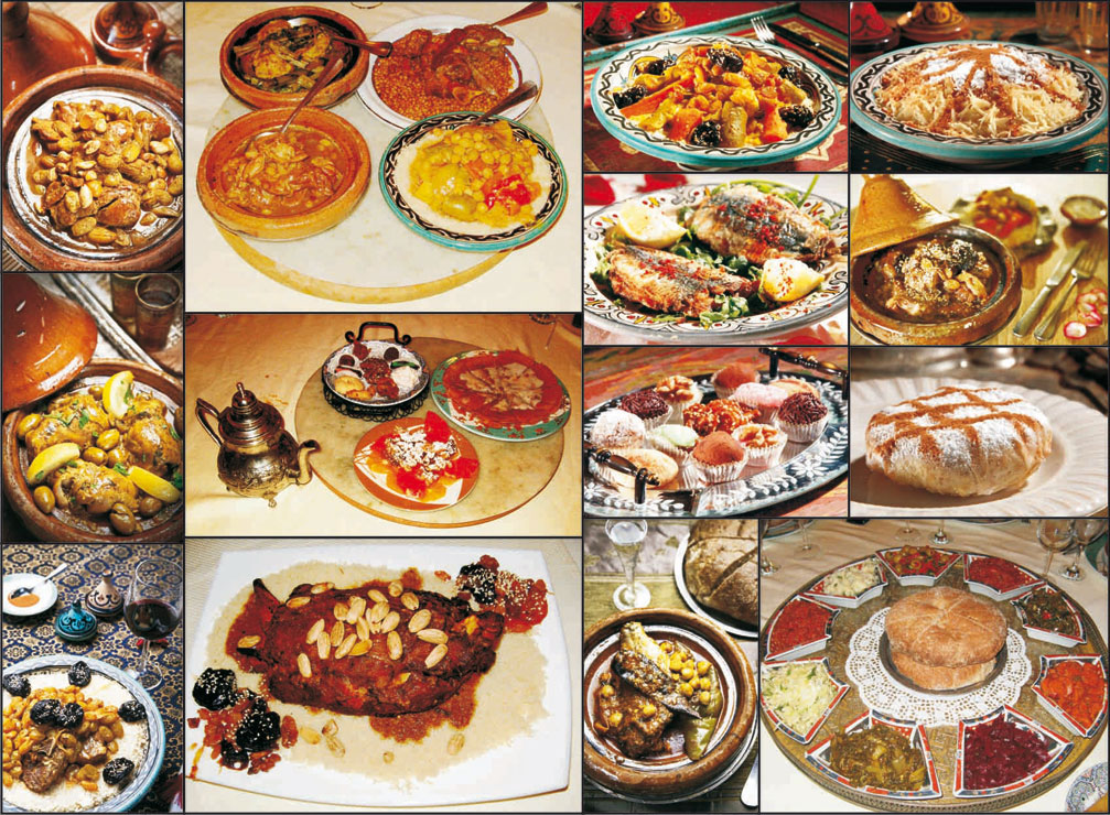 Travel for Authentic moroccan cuisine