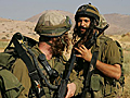 IDF soldiers of the religious battalion of Nahal during training